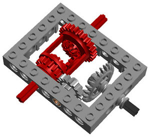 Lego Classic Framed Differential Kit Technic Car Truck Gear Tank
