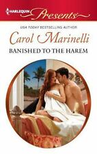 Banished to the Harem (Harlequin Presents), Marinelli, Carol, 0373131038, Book,
