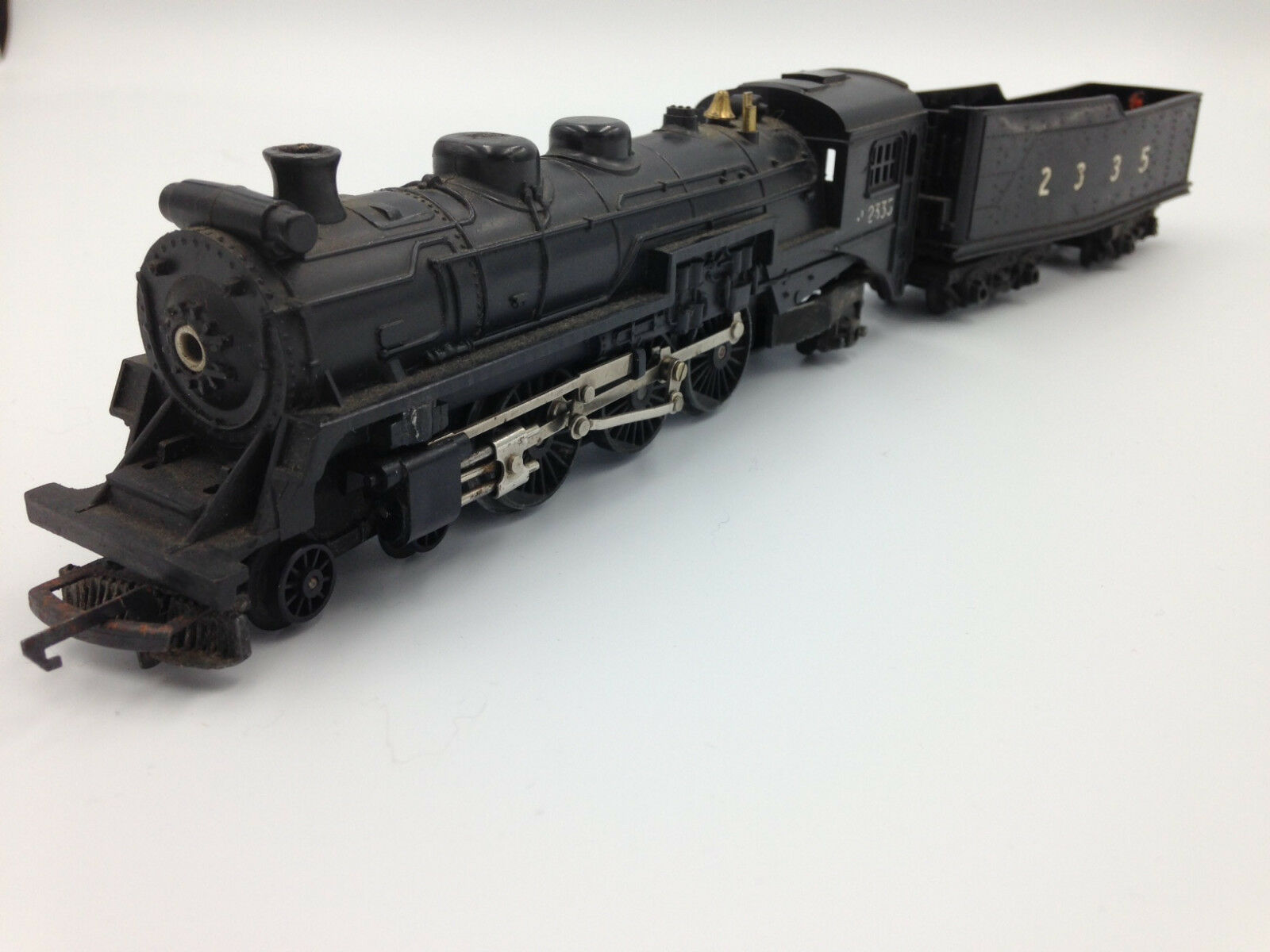 Triang R54 4-6-2 Hiawatha Pacific 2335 negro locomotive and tender OO gauge