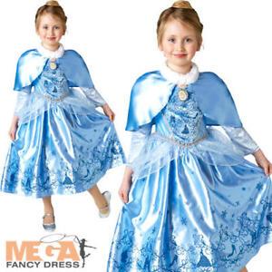 d5dbf11d21e7 Image is loading Winter-Cinderella-Girls-Fancy-Dress-Disney-Princess-World-