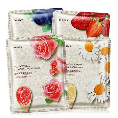 Moisture Essence Face Mask Pack Sheet Korea Beauty Facial Skin Care Collagen