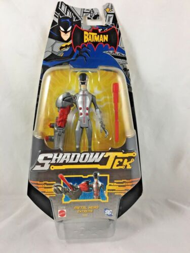 2007 Batman-Shadow Tek-Médaille Head Extreme-Action Figure-Mattel