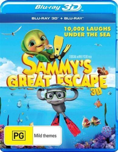 1 of 1 - Sammy's Great Escape (3D) NEW B Region Blu Ray
