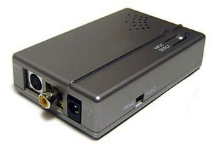 Composite RCA S-Video to RGB Component Video Converter