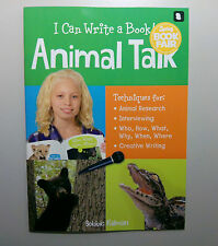 I Can Write A Book Animal Talk By: Bobbie Kalman  Educational Book For Children