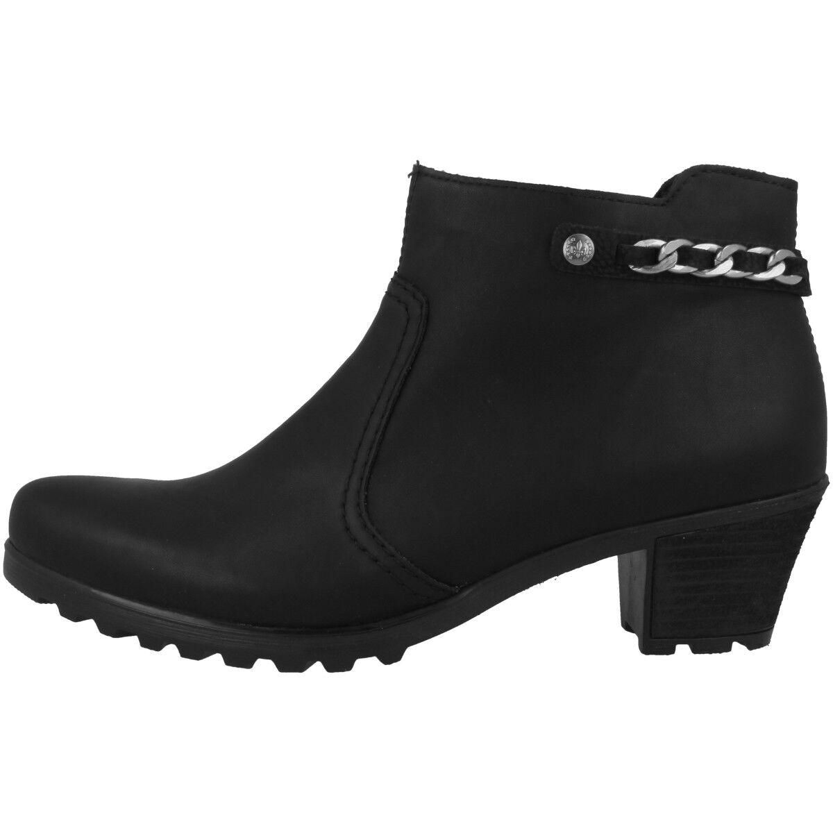 Rieker France-wildebuk zapatos anti estrés botines botas chelsea y8090-00 y8090-00 y8090-00 68ed60