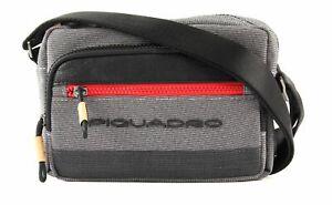 Piquadro Sac À Bandoulière Blade Crossbody Bag Grigio