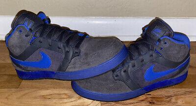 Punto de referencia Final en voz alta  Nike Sb 6.0 Mogan Mid 3 Lunarlon замша королевский синий серый туфли размер  11 Мужские | eBay