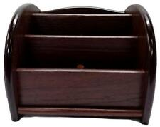 New Wooden Tv Remote Control Holder Stand Home Organizer Table Storage