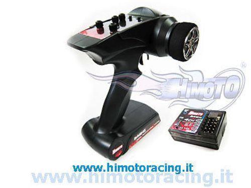 HTX-242 RADIOCOMANDO HIMOTO 2.4 Ghz A VOLANTINO + RICEVENTE 4 CANALI + FAILSAFE