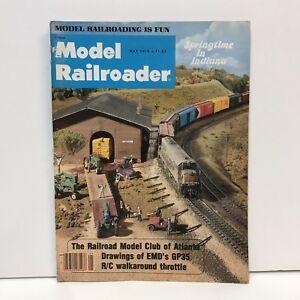 Model-Railroader-Magazine-Back-Issue-May-1978-Atlanta-Club-EMD-GP35-R-C-Throttle