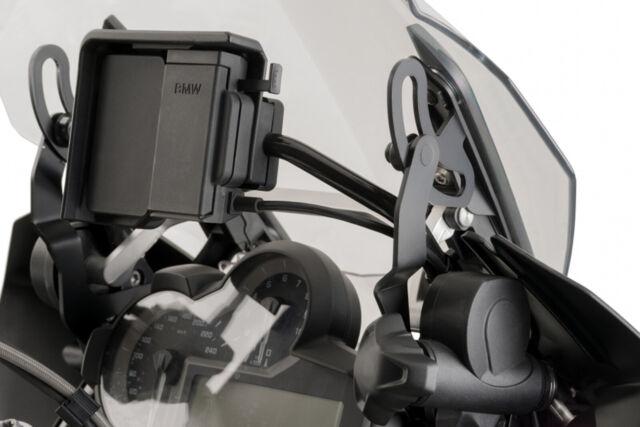 PUIG Brackets Support BMW Windshield R1200GS 2013 Black