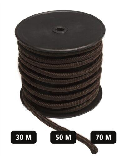 Mil-Tec Commando Seil 5//7//9mm 30//50//70m Spannseil Tau Flechtleine Sicherungsseil