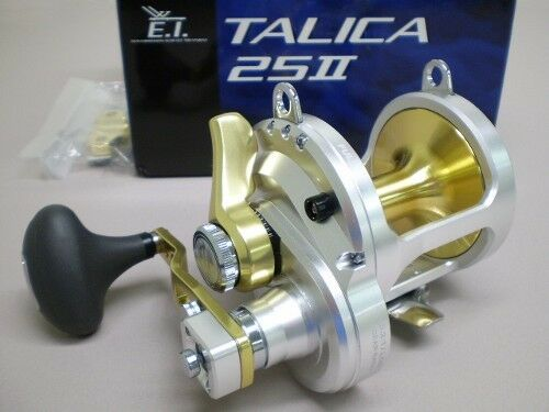 Shimano Talica 25II Saltwater 2 Speed Fishing Reel Lever Drag Model TAC-25II