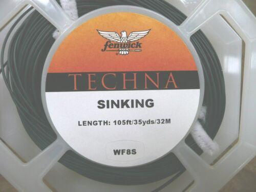 SINKING WF7,WF8 /& WF9 FENWICK TECHNA AIRCUTTER FLY LINE FLY FISHING,BRAND NEW