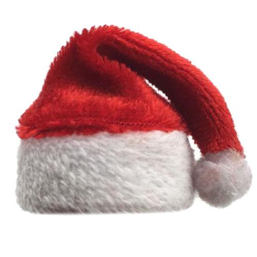 2x 1//6 Weihnachten Weihnachtsmütze Santa Cap für 12 Zoll Action Figure