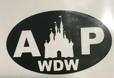 Walt Disney World WDW Annual Passholder Halloween Car Decal