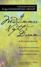 Folger Shakespeare Library: A Midsummer Night's Dream by William Shakespeare (2004, Paperback)