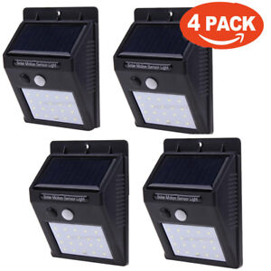 Lampe-de-jardin-etanche-a-l-039-eau-exterieure-a-LED-de-20-LED-a-energie-solaire-PIR