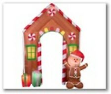 ARCHWAY HOUSE FOR CHRISTMAS AIRBLOWN INFLATABLE FROM GEMMY NEW  LARGE