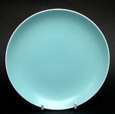 1960's Poole Twintone Range Sky Blue C104 Side or Bread Size Plates 18cm in VGC
