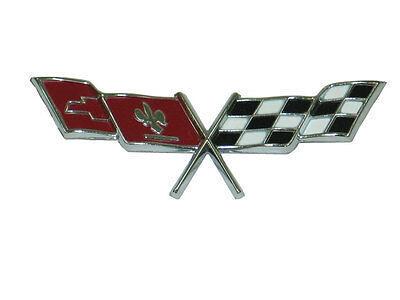 1977 Corvette Fuel Door Emblem NEW GM