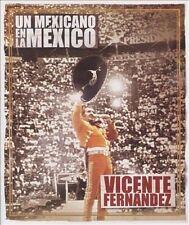 Vicente Fernandez: Un Mexicano En La Mexico;DVD Video-VG Condition-Sony