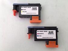 HP 940 Print Head 1Black/Yellow C4900A & 1Magenta/Cyan C4901A Ink Cartridges