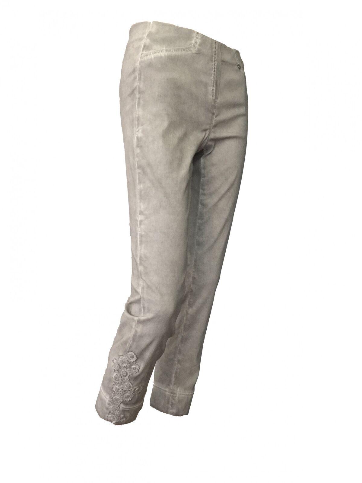 Rosa 09 Robell 7 8 Stretchhose Stretchhose Stretchhose im Used Look mit Spitzenbesatz | Up-to-date Styling  | Ästhetisches Aussehen  | Verschiedene Arten und Stile  be3759