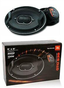 "BRAND NEW JBL GTO939 6X9"" 600W 3 OHM 3 WAY FULL RANGE CAR AUDIO STEREO SPEAKERS"