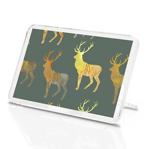 Majestic-Gold-Stag-Classic-Fridge-Magnet-Deer-Green-Wild-Scotland-Gift-13000