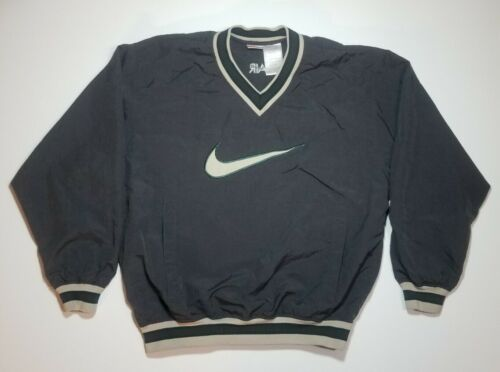 Vintage 90s Nike Air Center Middle Swoosh Windbrea