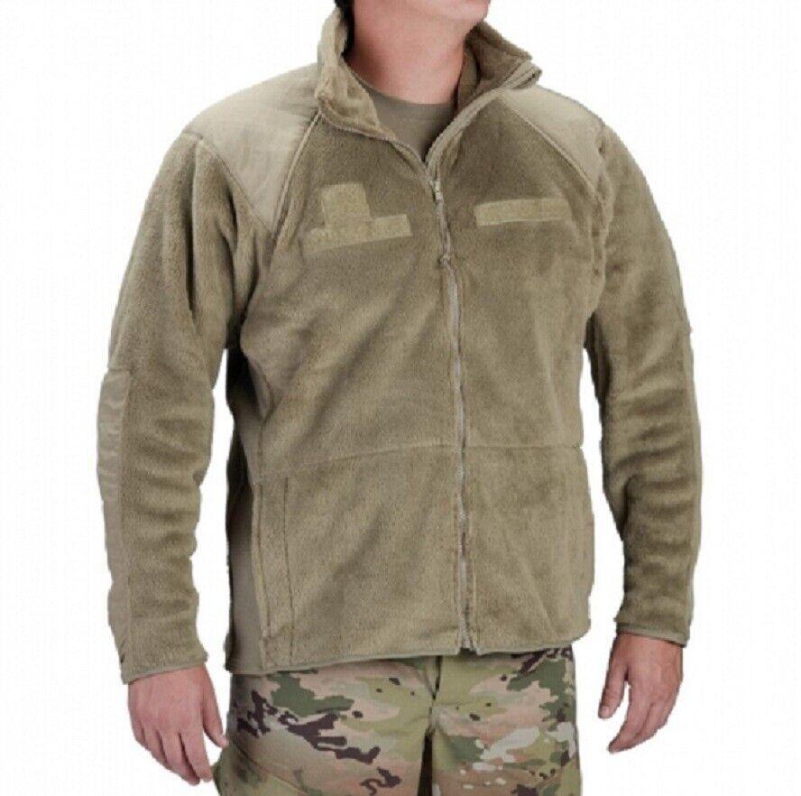 US Army l3 Gen III ECWCS Polartec Giacca Tan 499 MULTICAM SCORPION SL Smtutti lungo
