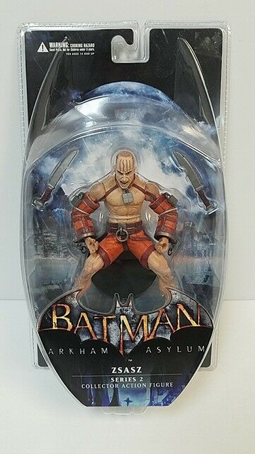 DC Direct Collectibles - Arkham Asylum: Series 2 ZSASZ 6  Action Figure