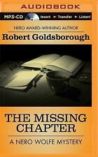 Nero Wolfe: The Missing Chapter 7 by Robert Goldsborough (2014, MP3 CD,...