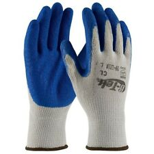 Industrial Gloves G Tek Seamless Latex Coated Crinkle Grip Size Large 1 Pair