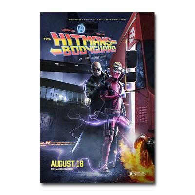 Deadpool 2 2018 Movie Film 12x18 24x36 Silk Poster Art print F-52