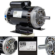 64 Hp 3450 Rpm Single Phase 240v 56 Frame Electric Air Compressor Motor 78