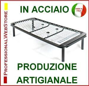 RETE-LETTO-SINGOLO-A-MOLLE-ORTOPEDICA-cm-80-x-190-195-200-205-210-Made-in-ITALY
