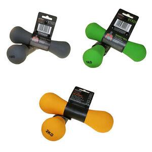 Phoenix-Fitness-2-x-Peso-de-Mancuernas-de-Neopreno-para-brazos-y-manos-Hogar-Y-Gimnasio
