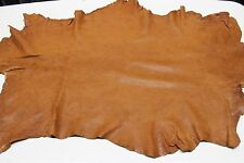 Italian Lambskin leather skin skins WASHED NATURAL VEGETABLE TAN 6sqf
