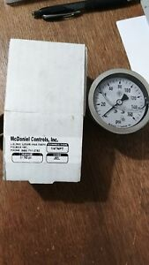 McDaniel-Controls-Inc-J7EL-Utility-Gauge-New-in-Box-Qty-2