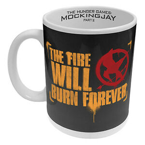 The Hunger Games MOCKINGJAY Coffee Mug Man Cave Birthday Christmas Gift