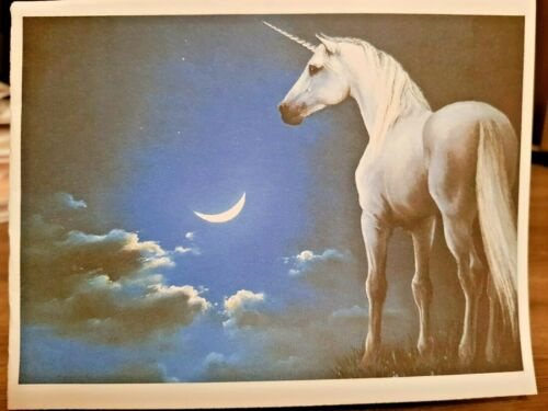 """/""""Blessed Unicorn/"""" Envelopes Set of 10 KITTY/'S NOTE CARDS"""