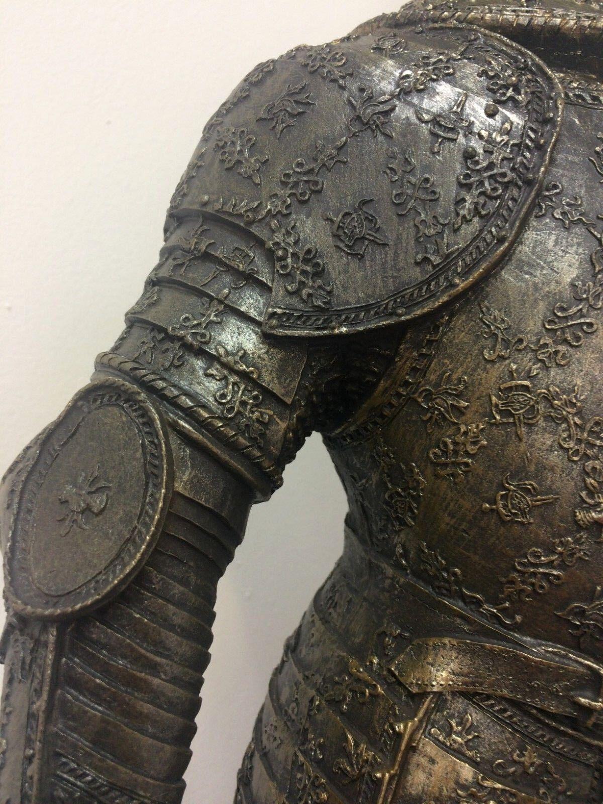 XL 65 cm CHEVALIER avec lance chevalier armure cadeau moyen âge cadeau armure présent loft 21872d