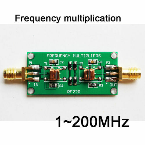 NEW 1 ~ 200MHz radio frequency multiplier module