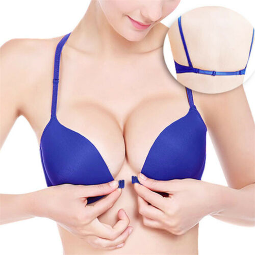 Ladies Adjustable Push Up Front Closure Seamless Padded Underwire Bra Lingerie