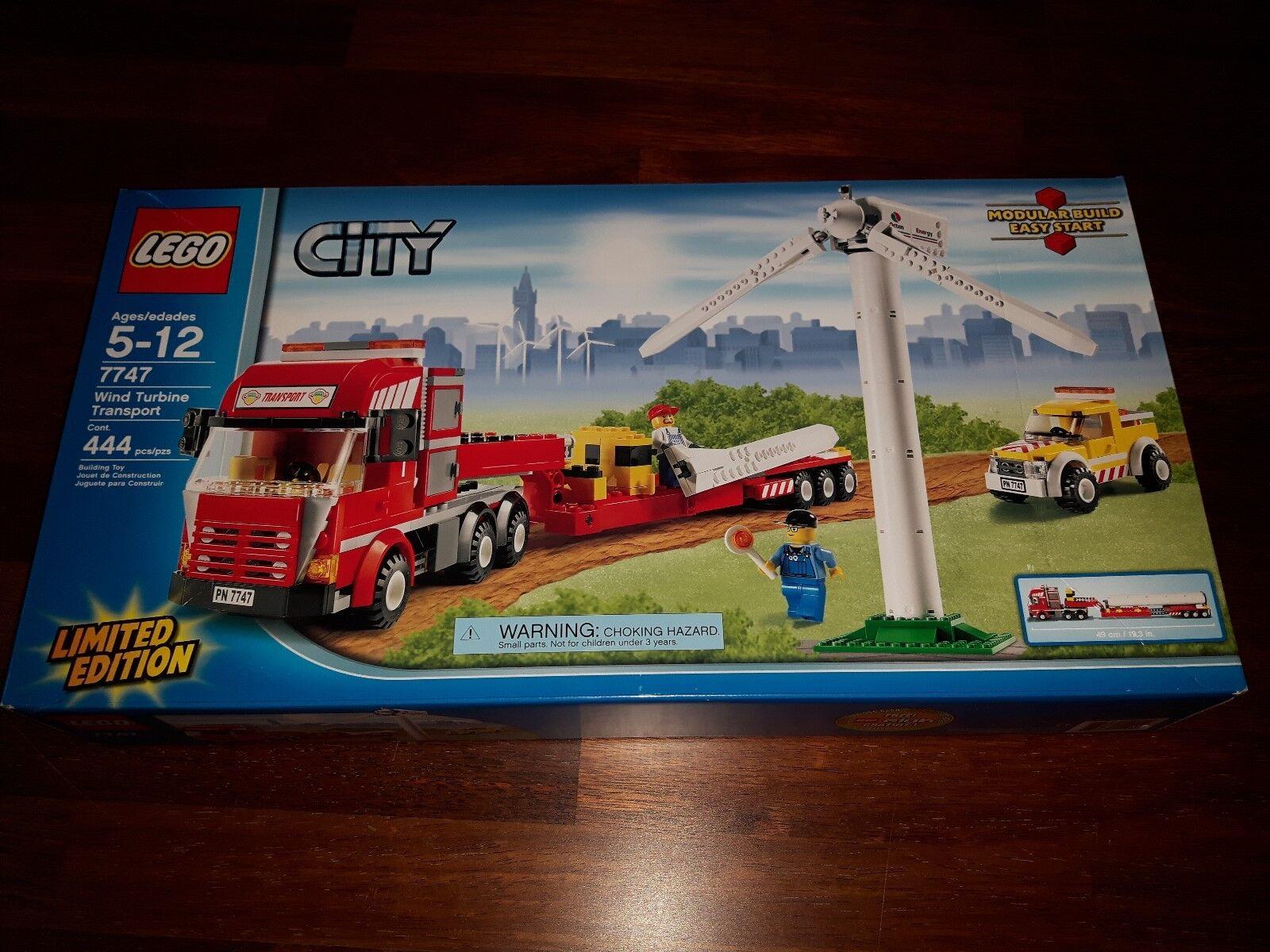 LEGO 7747 Wind Turbinen Transport Transport Transport Limited Edition sehr selten ec29f5