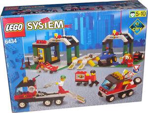Ref.6434 Le centre auto et son atelier de reparation de 1999