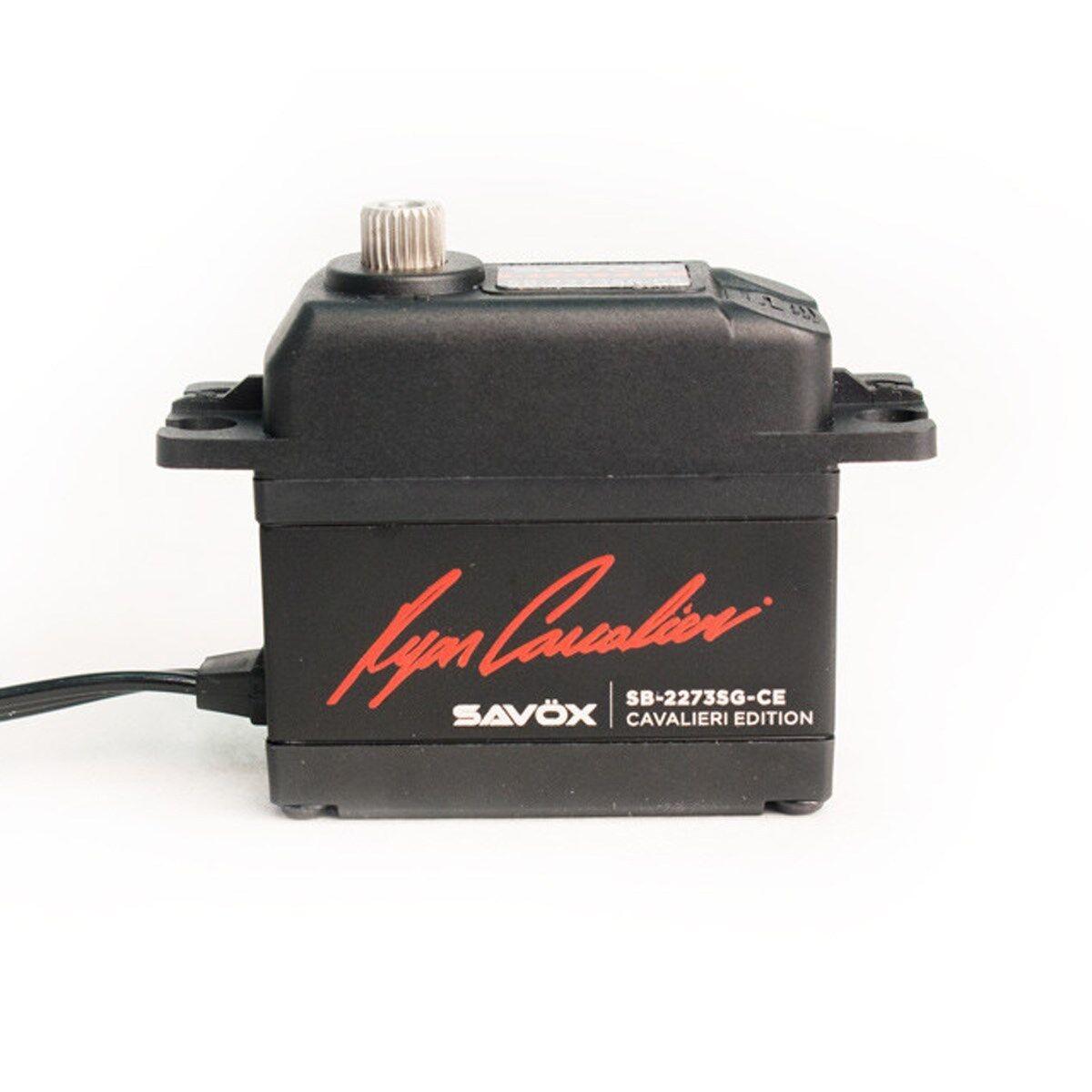 Savox - Ryan Cavalieri edizione HV Brushless Digital Servo - SAVSB2273SG-CE